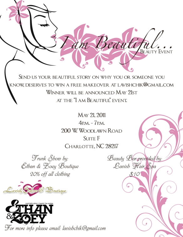 """Be apart of the """"I AM BEAUTIFUL"""" Campaign