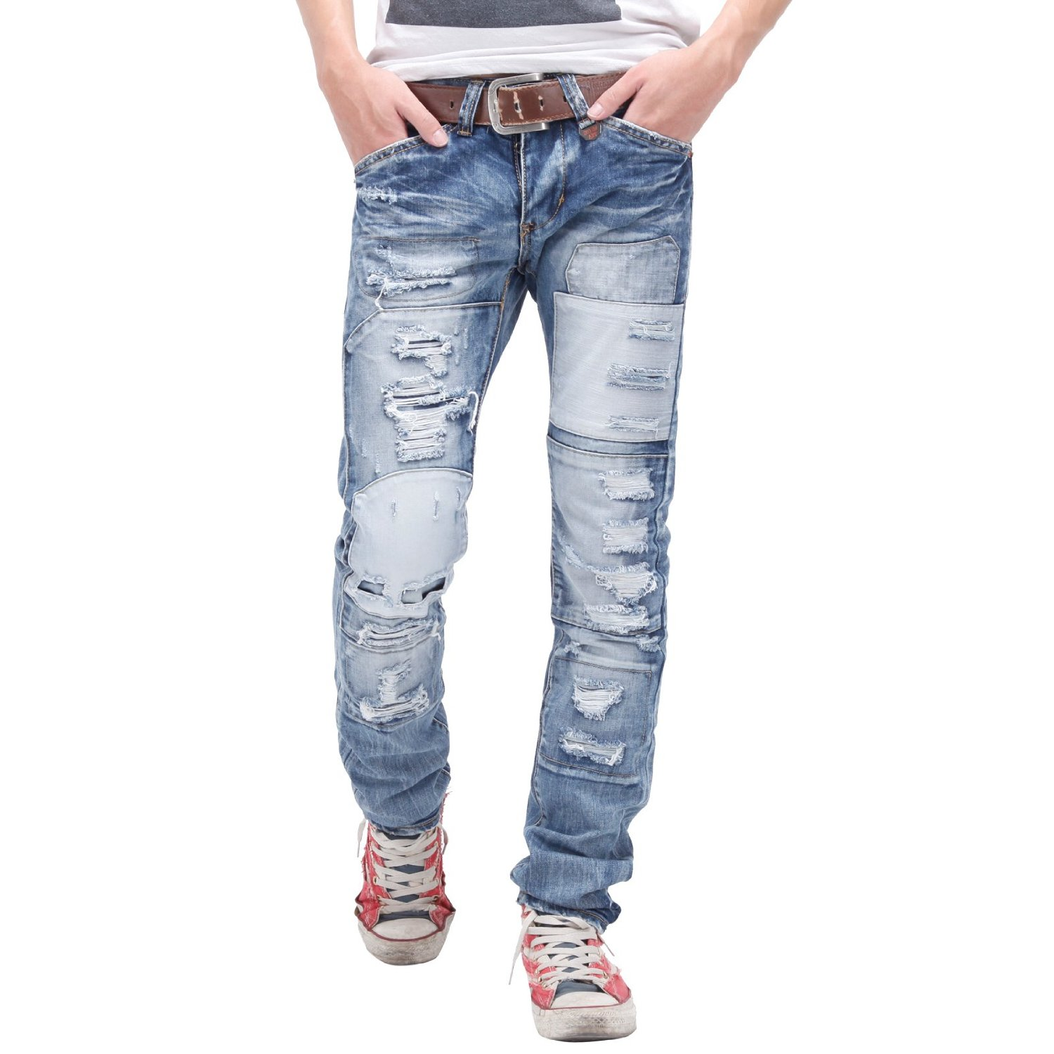 Ripped jeans for men photo